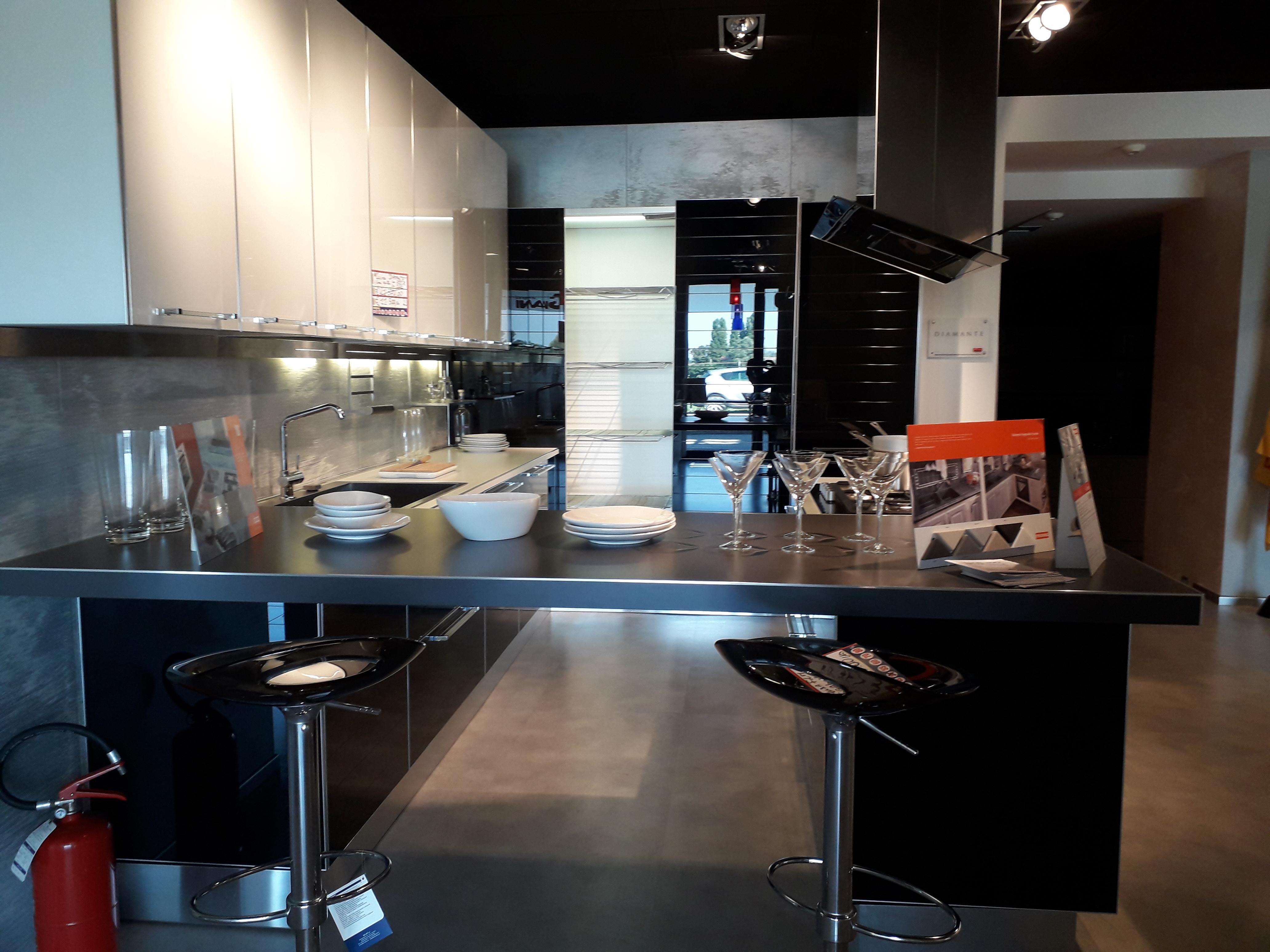 Veneta Cucine Misure Moduli.Veneta Cucine Mod Diamante Vetro